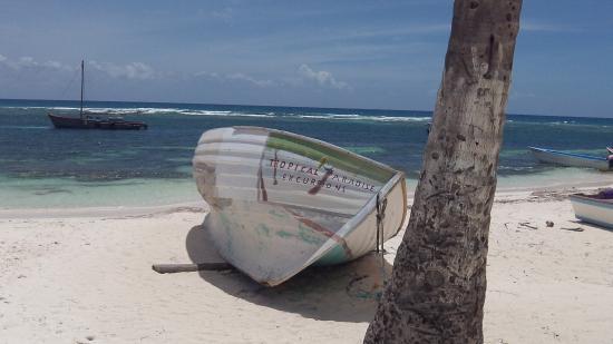 Bayahíbe, República Dominicana: Great scenery...
