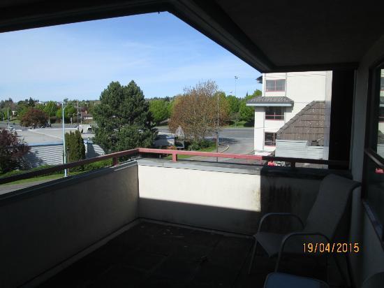 Comfort Inn & Suites: Balcony