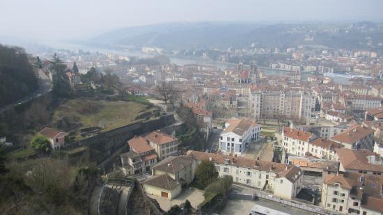 Vistas de Vienne desde el mirador de Pipet