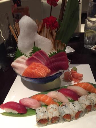 Pacific Fusion: Sushi and Sashimi Combo Platter