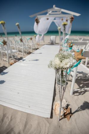 Beach Wedding Gazebo Decorations By Aire De Fiesta Picture Of