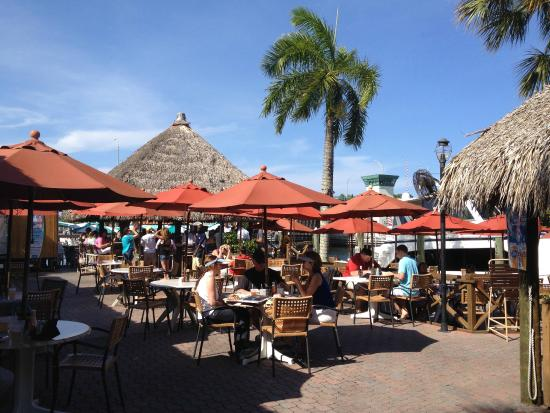 South tiki at Waterway Cafe - Picture of Waterway Cafe, Palm Beach