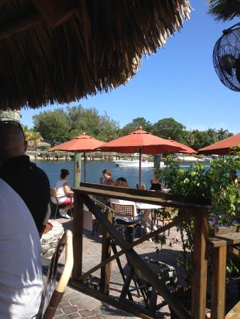South Tiki At Waterway Cafe Picture Of Waterway Cafe Palm Beach Gardens Tripadvisor