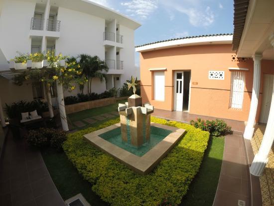 Casa Murillo Hotel : Jardín Interior