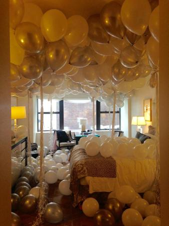 Surprise Gifted Balloons Picture Of Lotte New York