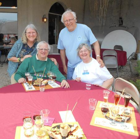 Morgan Creek Vineyards: at the Nosh