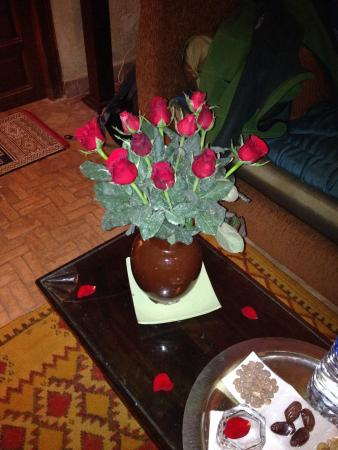 Riad Zolah: Welcome flowers