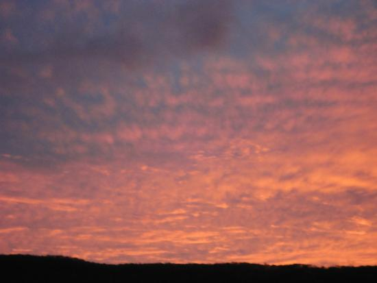 Days Inn Chattanooga Lookout Mountain West : the sunset on April 16th 2015