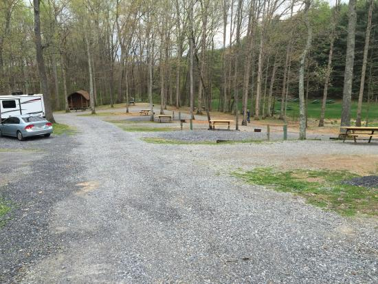 Natural Bridge/Lexington KOA: RV sites