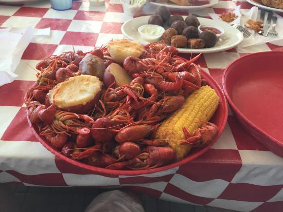It S Crawfish Season Picture Of Benno S Cajun Seafood
