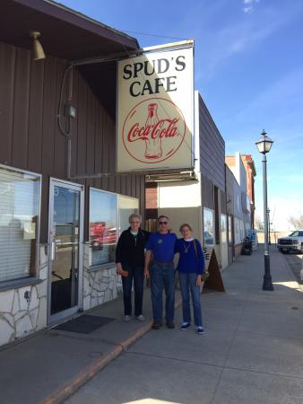 Chester, MT: Outside SPUDS