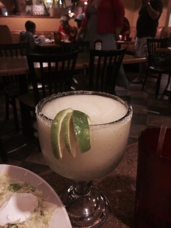 El Nopal Mexican Restaurant: 32oz frozen Margarita. Delicious