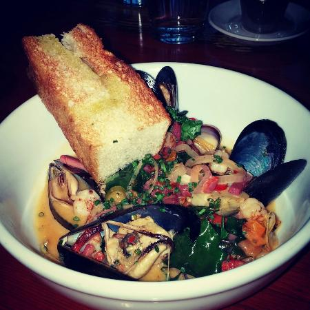 The Parlor Pizzeria : Seafood stew