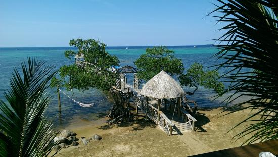 Tranquilseas Eco Lodge and Dive Center: View from sundeck