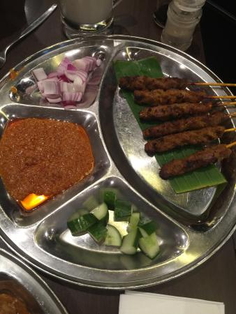 PappaRich: Beef satay