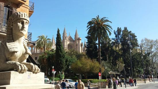 Catedral de Mallorca: Blick auf die Kathedrale