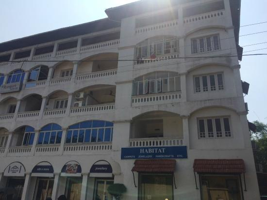 Fort Beach Service Apartment is located on the second and third floor with balcony