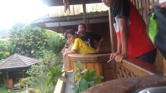 Pesona Bamboe: room balcony