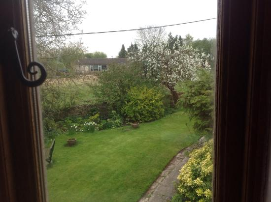 Herb Cottage: View from bedroom window