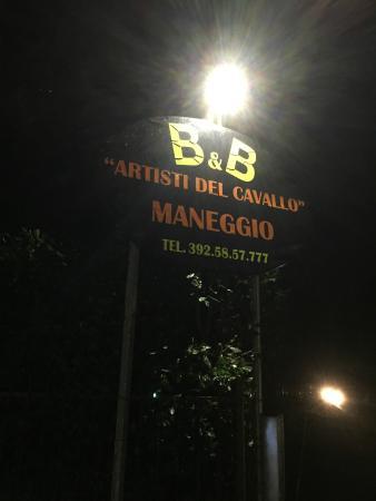 Agriturismo B&B Maneggio Artisti Del Cavallo