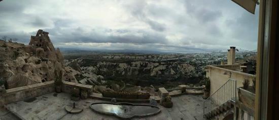 Argos in Cappadocia: View from Dining Room