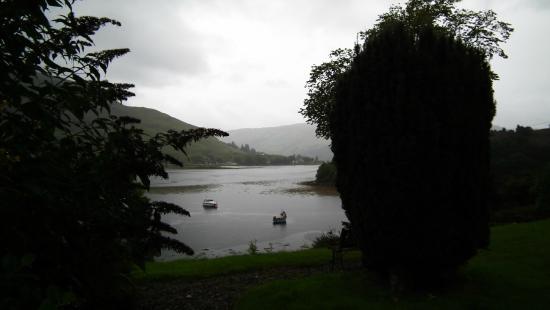 Conchra House: La vue sur Eilean Donan depuis le B&B