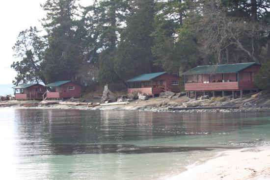 Yellow Point Lodge: Beach Cabins
