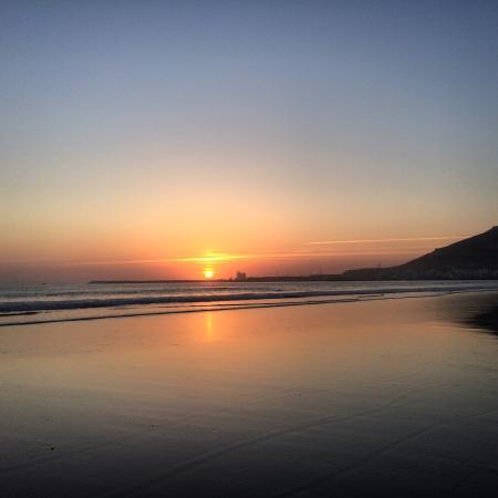 Seafront Promenade : Amazing sunset...