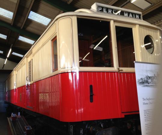 Stephenson Railway Museum: Tyneside electric baggage car