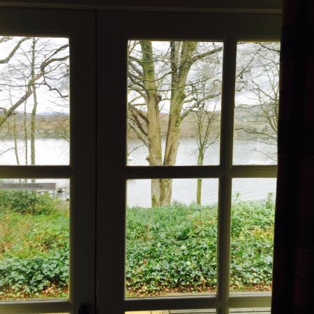 Storrs Lodges: Lake side view from window