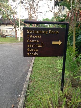 Suansawan Resort Chiang Mai: Sauna & Fitness is in good condition to use