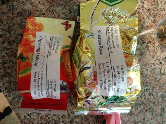 Vital Tea Leaf : Favorites
