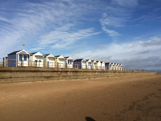 St Annes Beach Huts Turned Out Nice