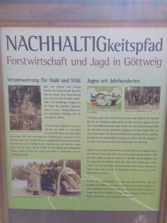 Benediktinerstift Goettweig: History of the surrounding forrest