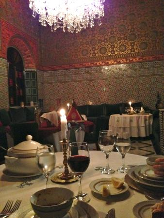 L Mansion Marrakech: CENA