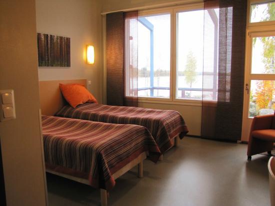 doubleroom in guesthouse Haavi Jokiniemen matkailu