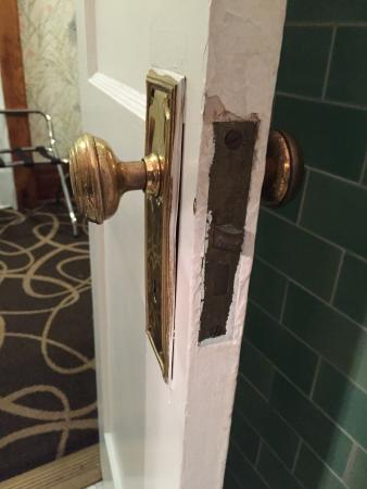 Inn at Lincoln Park : Accuracy in paint application.
