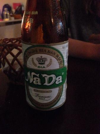Nada (local beer, 15k)