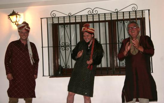 Aruna's Mira India: Aruna's Bollywood Night - the boy dancing to Bollywood music