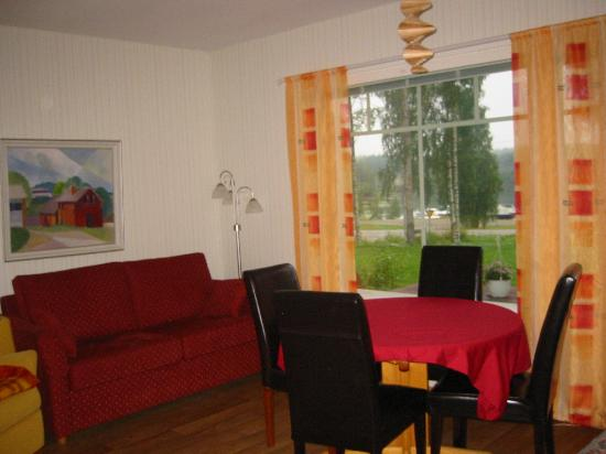 La Región de los Mil Lagos (Lakeland), Finlandia: Apartment for 4 persons with own sauna and fire-place