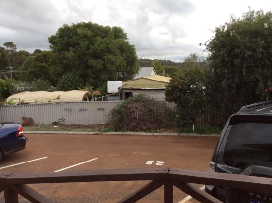 Karri Forest Motel : View from Apartment door