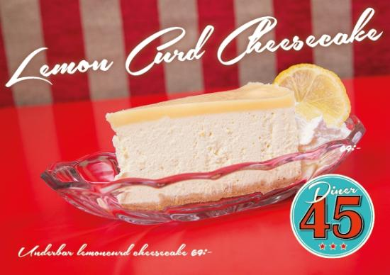 Our Fabulous Desserts at Diner 45