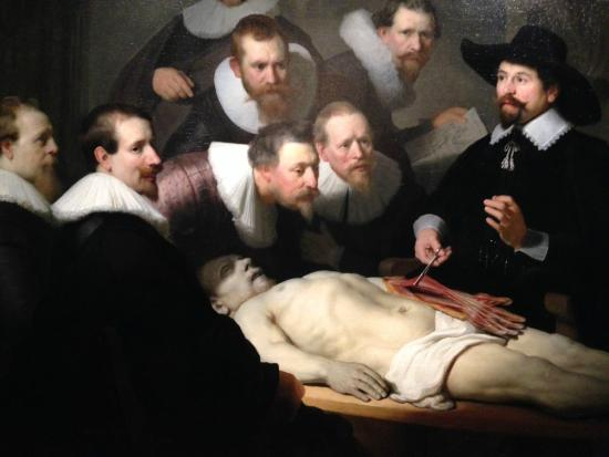 Rembrandt Lesson In Anatomy Painted When 25 Years Old 1632 Picture