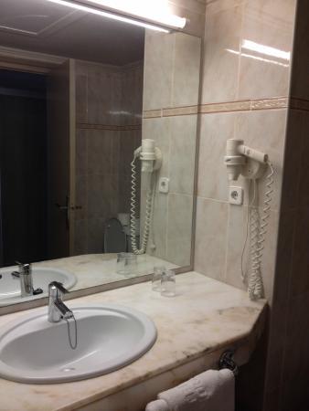 Hotel Panorama: séchoir fourni