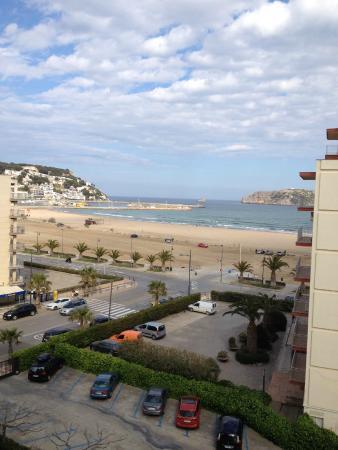 Hotel Panorama: vue sur la baie (de la chambre au 5ème)
