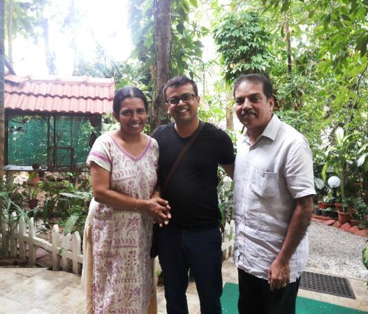 Green Woods-Bethlehem: Rahul with Sheeba & Ashley