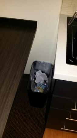 Candlewood Suites Chicago O'Hare: Not clean. Hairs on the toilet trash not tempted