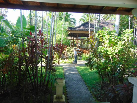 Bumi Ayu Bungalows: View from room 26