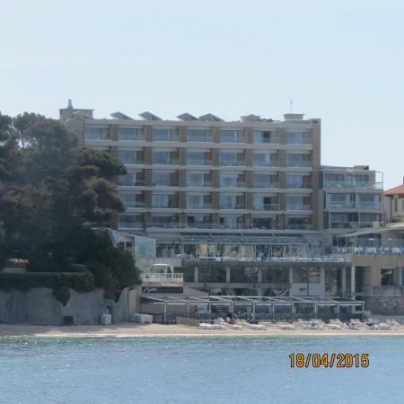 Vue de l 39 h tel ile rousse photo de h tel ile rousse for Hotels ile rousse