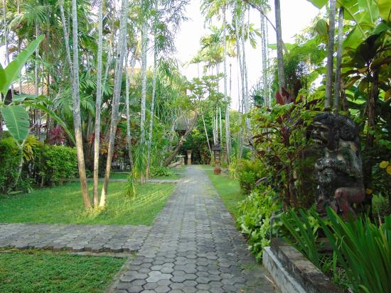 Bumi Ayu Bungalows: The gardens